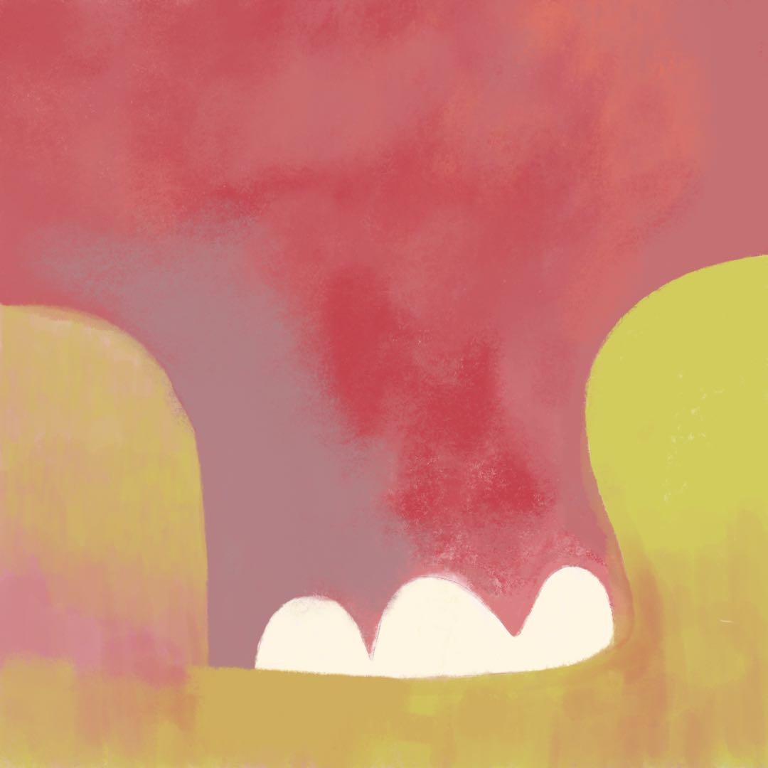 彭芸,红色大象,无眼,无声,无耳,无皮,无骨.jpeg
